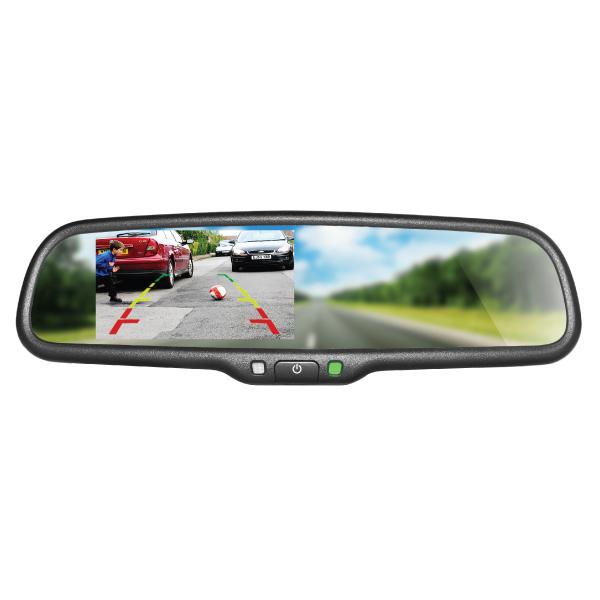 Mirror Monitor 4.3 Inch SMA-AK2-043LA 1