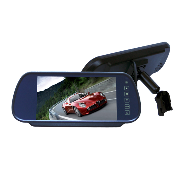 Mirror Monitor 7 Inch & Dual Camera 20m 2