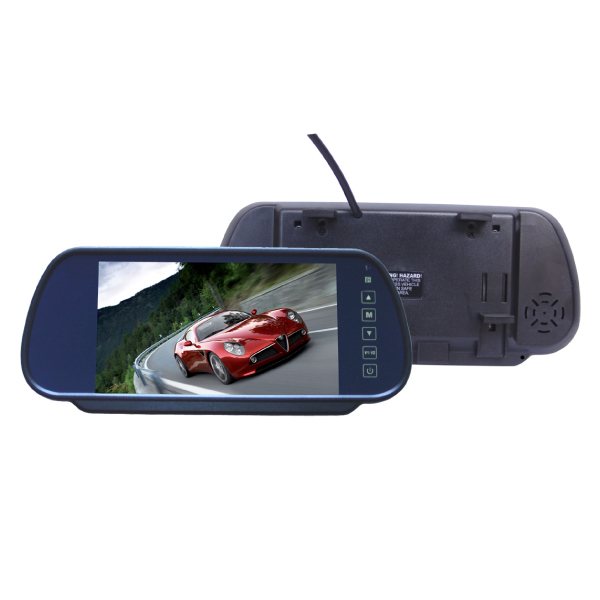 Mirror Monitor 7 Inch & Dual Camera 20m Clip On 2