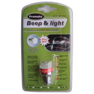 Beep & Light 24V Reverse Alarm
