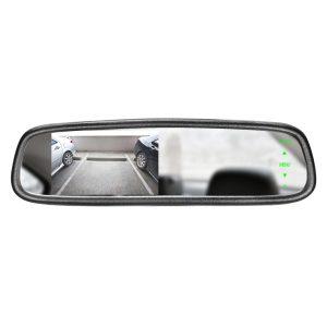 Mirror Monitor 4.3 Inch SMA-DK-043LB (Clip On)
