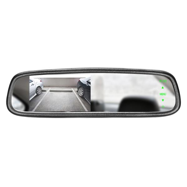 Mirror Monitor 4.3 Inch SMA-DK-043LB (Clip-On) 1