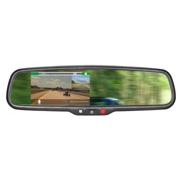 Mirror Monitor 4.3 Inch SMA-EFV-043LA-23 With DVR 1