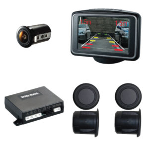 PTSV404 Rear Parking Sensors With Camera & Monitor