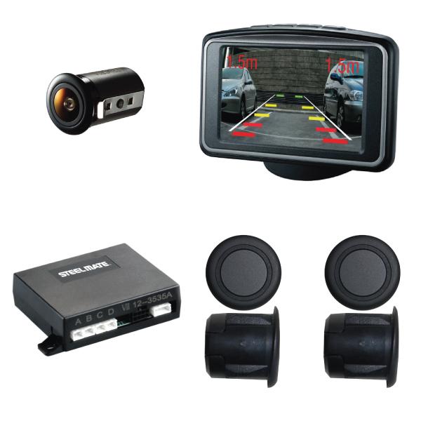 PTSV404 Rear Parking Sensors With Camera & Monitor 1