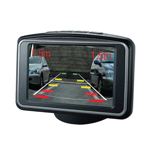 PTSV404 Rear Parking Sensors With Camera & Monitor 2
