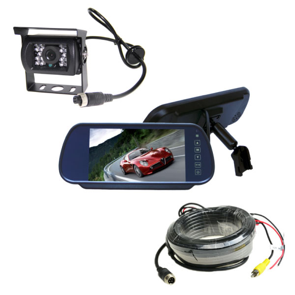 Mirror Monitor 7 Inch & Single Camera 10m 1